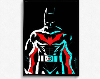 Batman Beyond Terry Mcginnis  art prints poster.