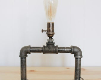 Iron Pipe Table Lamp/Wall Mount Lamp