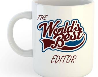 The Worlds Best Editor Mug