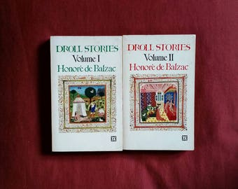 Honore de Balzac - Droll Stories 1 & 2 (Arrow Books 1967)