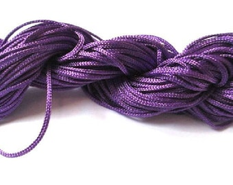 25 m 1 dark purple nylon string mm
