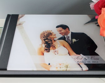 custom wedding photo album11x14 horizontal acrylic cover wedding album with 30 pages albums remembered