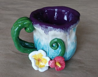 Tropical Ceramic Mug