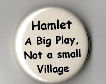 Hamlet   Humor   1.25 inch Button