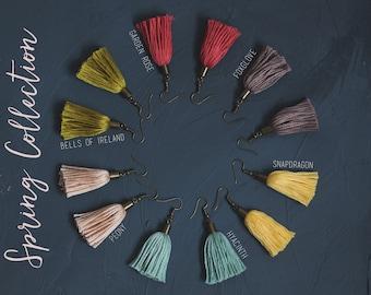Tassel Earrings - Spring Collection