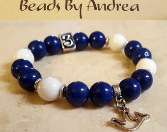 Sorority Line Number Collection-Royal Blue & White