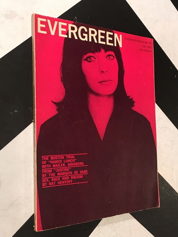 Evergreen Review/ Volume 9/ No. 36 counterculture grove press (Softcover Magazine: June, 1965)