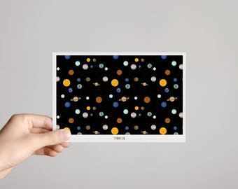 "Card ""Galaxy"""