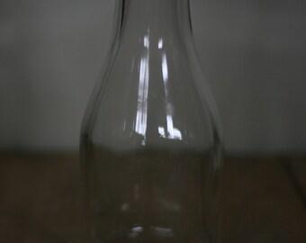 vintage one quart milk bottle