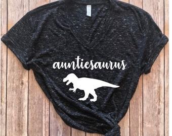 Auntiesaurus shirt, aunt shirt, Aunt Dinosaur shirt, Gift for aunt, gift for new aunt, Gift for auntie, aunt shirt, auntie shirt