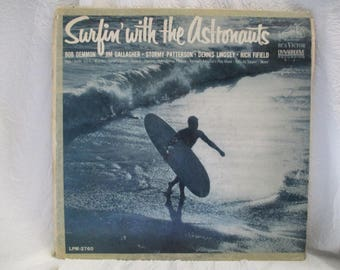 Surfin With the Astronauts Album Record LP