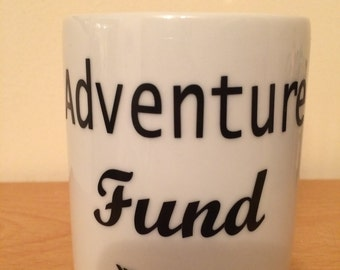 Adventure Fund Ceramic money box