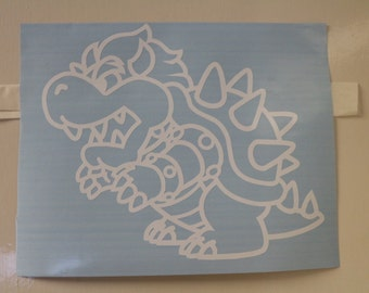 Mario Bowser Decal Any Size Any Colors