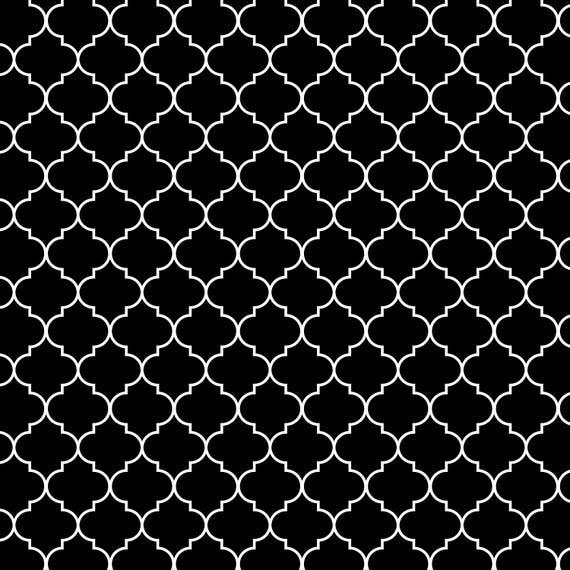 Moroccan Trellis Pattern Seamless Arabic Scrapbooking Digital Paper Background From WunderlandGrafik On Etsy Studio