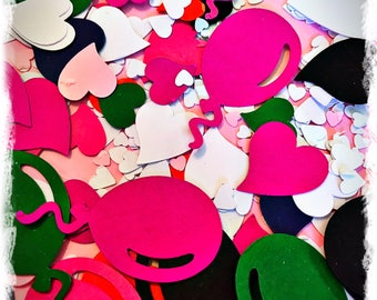 Birthday Party Table Scatters/Confetti - HEARTS AND BALLOONS - 10gms (approx 750 pieces)