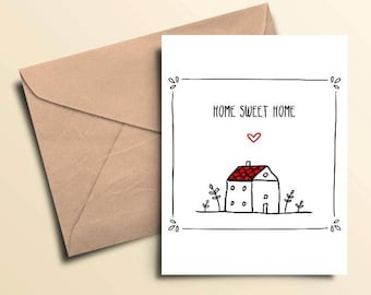 Home Sweet Home Note Cards