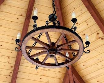 chandelier with 6 lights /rustic/home Decoration/retro/vintage/interior