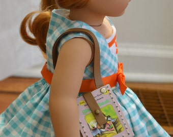 "The Sleepy Book Purse for 18"" play dolls such as American Girl® Dolls"