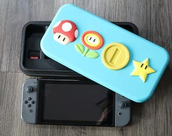 Nintendo Switch Mario Powerups Case 3D Print