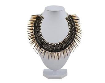 Black Mask Necklace