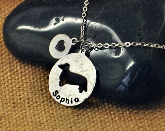 Dachshund Dog necklace, Personalized Dog Necklace,Custom Dog Name Pendant , Dog Charm, Pet Jewelry