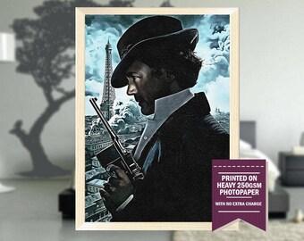 Sherlock Holmes poster, fanart, sherlock poster, sherlock print, sherlock movie, sherlock movie art, best posters, cool prints, cool art