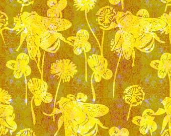 Yellow Honey Bees.