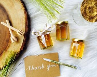 Honey Jar Wedding Favor, Simple Honey Favor, Honey Favor, Honey Jar, 3oz Honey Jar, set of 25