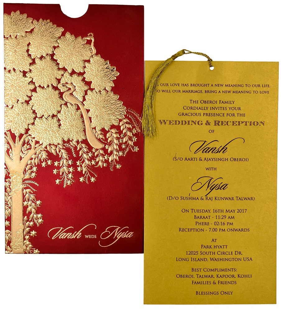 Unique dl wedding invitations mold resume ideas megansmissionfo 100 personalised low cost cheap indian hindu muslim engagement stopboris Gallery
