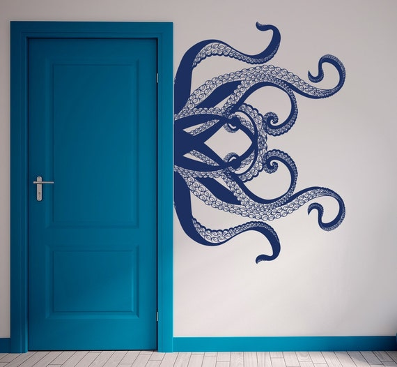 Large Octopus Wall Decal