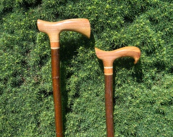 His and Hers Fritz and Derby Style Canes, Fritz Cane, Derby Cane, Walking Stick, Walking Cane