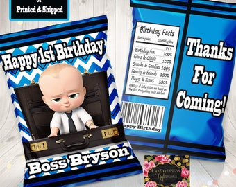 Boss Baby Toppers Etsy