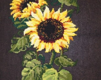 Cross stitch pattern PDF sunflowers, Cross stitch pattern PDF sunflower, Cross stitch pattern PDF flowers