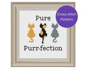 Pure Purr-fection Cross S...