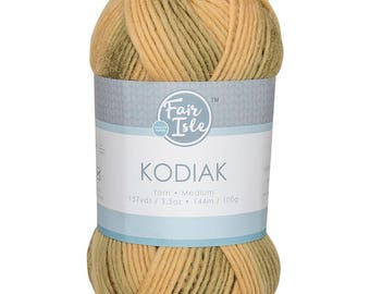 Bear Fair Isle Kodiak Space Dye Yarn Wool (Pre-Order)