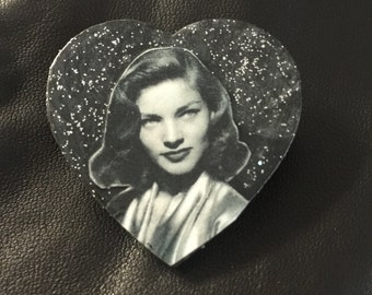 Lauren Bacall Pin