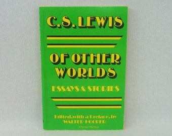 1975 Of Other Worlds - Essays & Stories - C S Lewis - Literary Criticism - Vintage Book