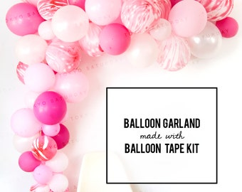 Confetti Balloon Garland Easy DIY Kit, Colour of your choice Wedding, Birthday, Engagement, Baby Shower Party Decoration - AU free shipping