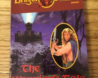 1993 TSR Dungeons and Dragons Dragon Strike Book - The Warrior's Tale by Michael Andrews
