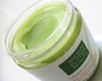 Hair Pomade | Mixed Greens - Organic Horsetail, Organic Nettle, OrganicParsley Hair Butter