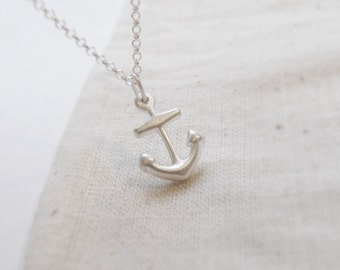 Anchor (necklace) - Small sterling silver anchor