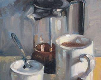"8"" x 10"" Coffee Press Giclee Print"