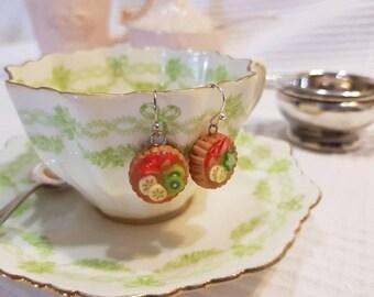 French Fruit Tart Earrings