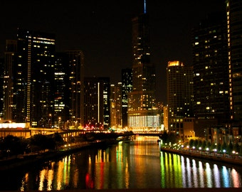 Gallery Print: Chicago by Night