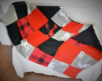 TO ORDER! Small blanket quilt / patchwork