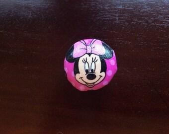 Minnie Mouse dresser knob