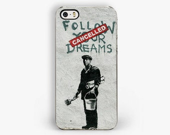banksy iphone 7 phone cases