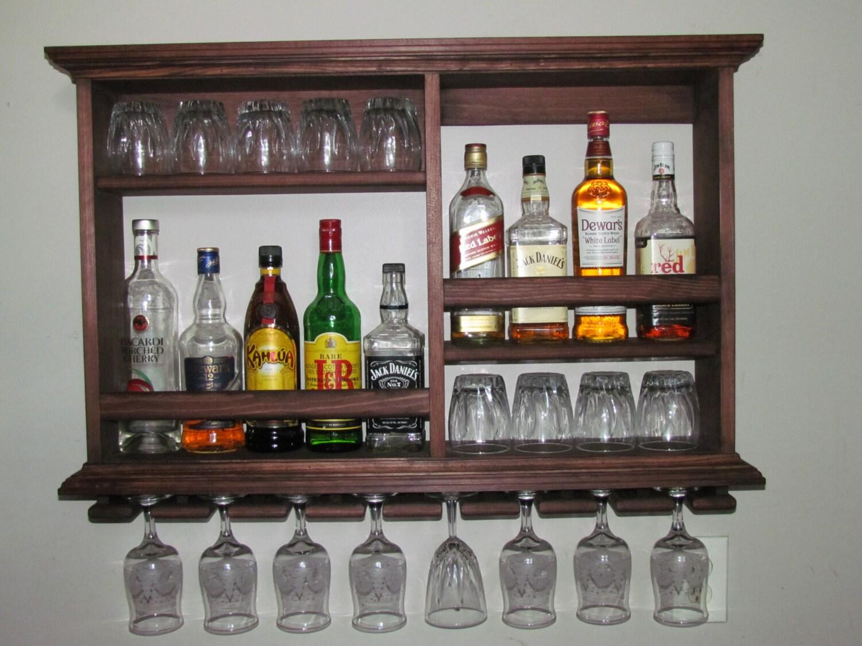 Mini Bar Tinte Rojo Caoba Botellero Mueble Estilo # Muebles Kaoba Santa Cruz De La Sierra