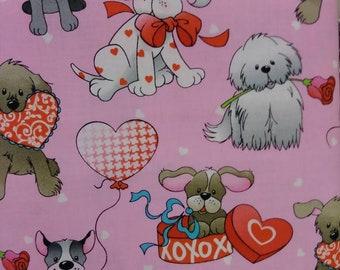 Doggy Love fabric bthy. Buyers Choice