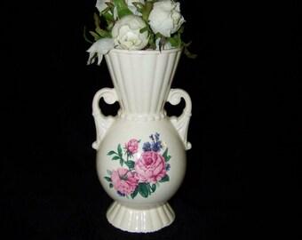 Shabby Royal Copley Vase